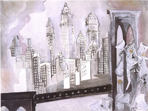 zelda fitzgerald writer artist painter brooklyn bridge